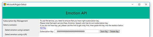 Emotion Functionality Interface